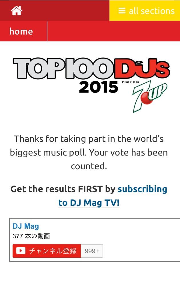 DJ MAG Vote4