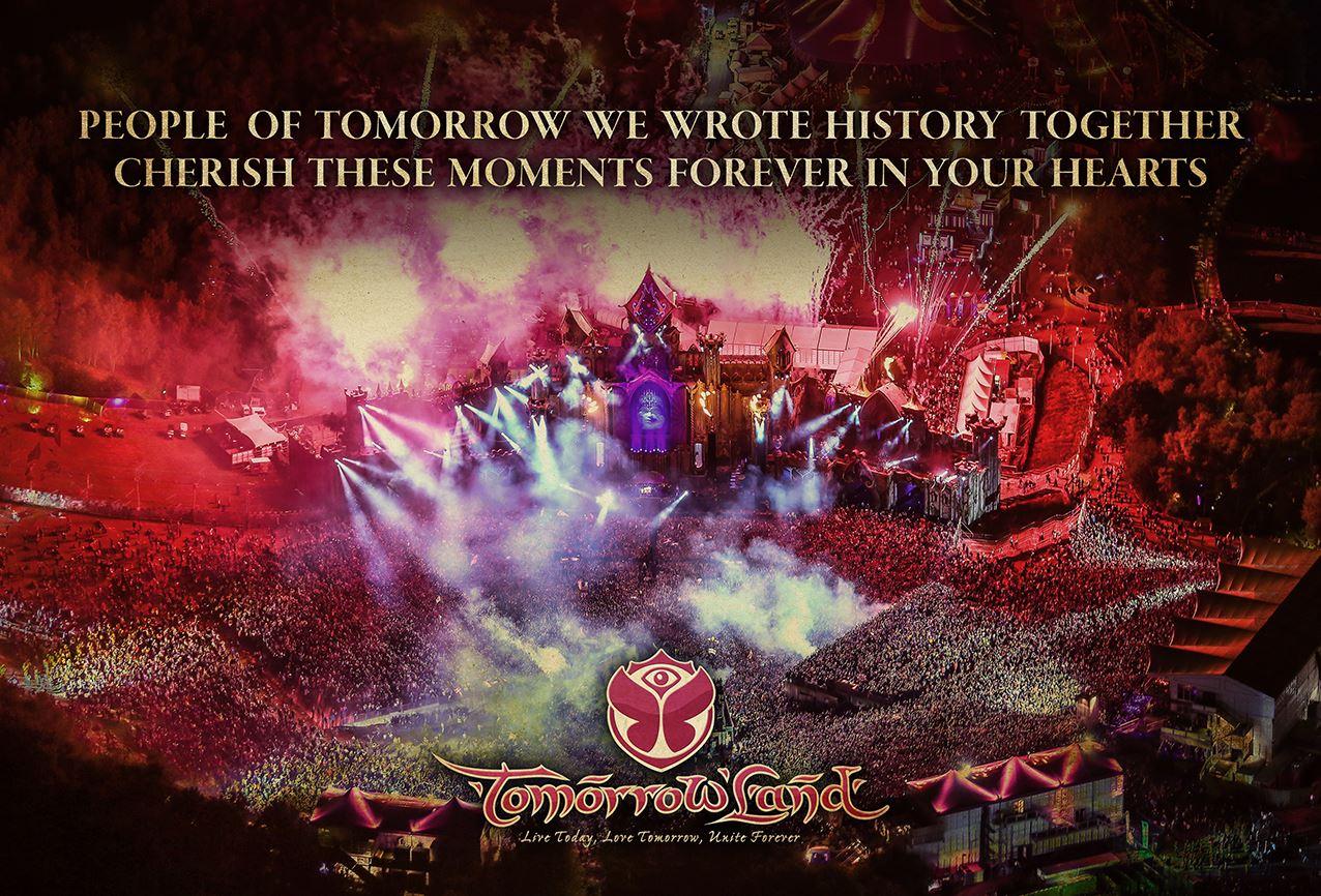 Tomorrowland-2015-History