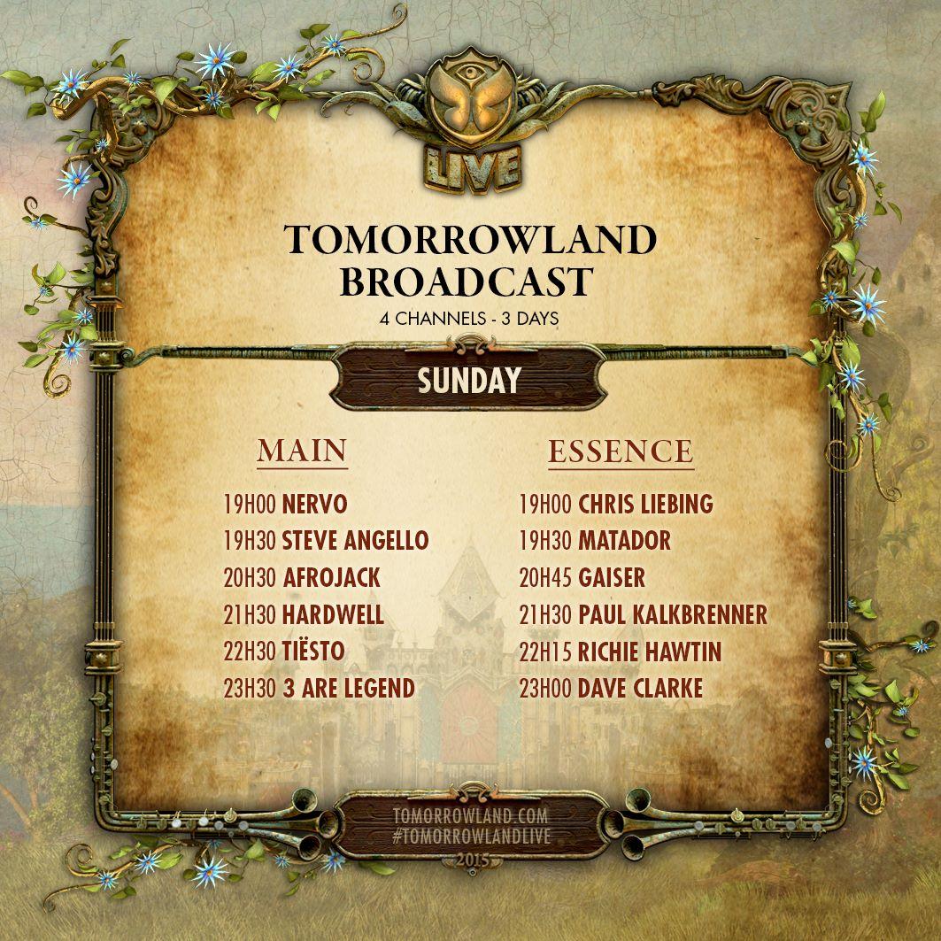 Tomorrowland-Belgie-Sunday