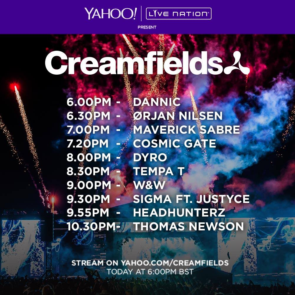 Creamfields Friday