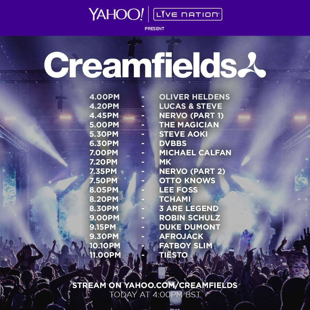 Creamfields Sunday