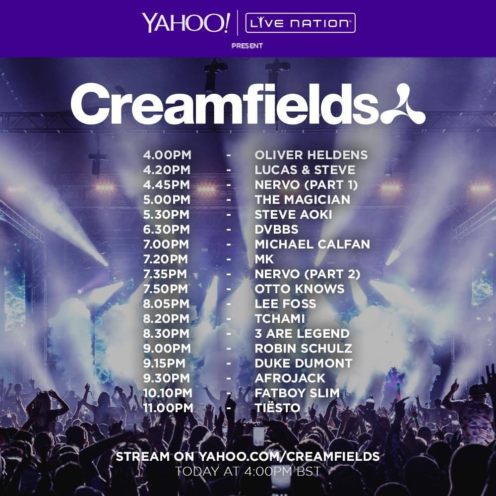 Creamfields Sunday