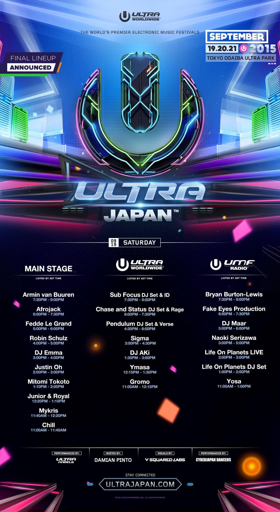 ULTRA JAPAN 2015 DAY 1