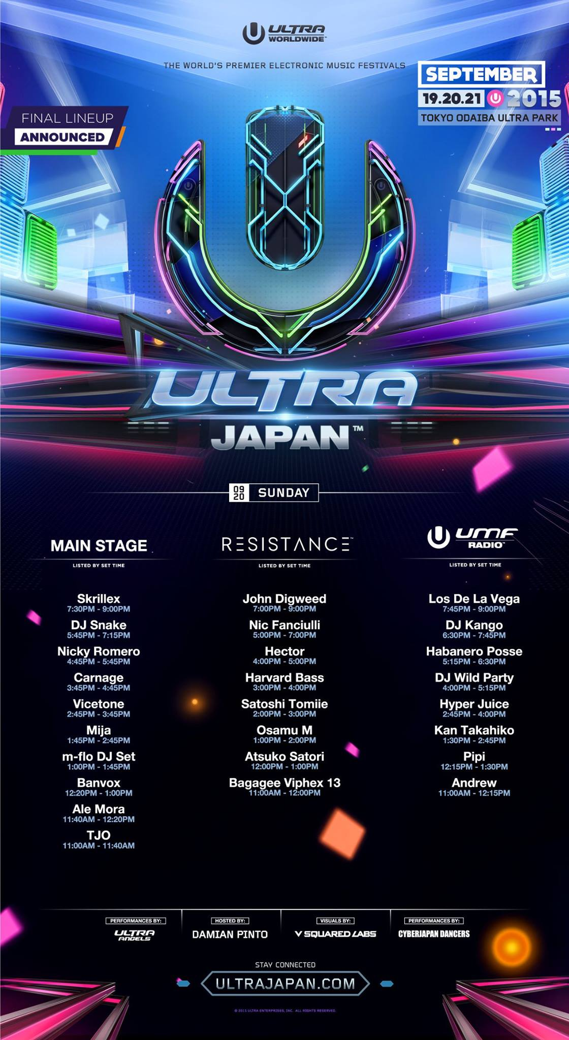 ULTRA JAPAN 2015 DAY 2