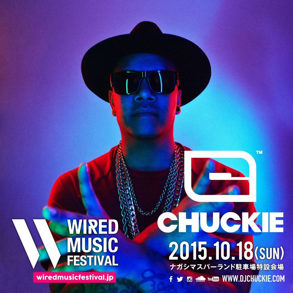 WIRED MUSIC FESTIVAL CHUCKIE