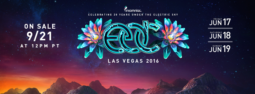 EDC 2016 Tickets