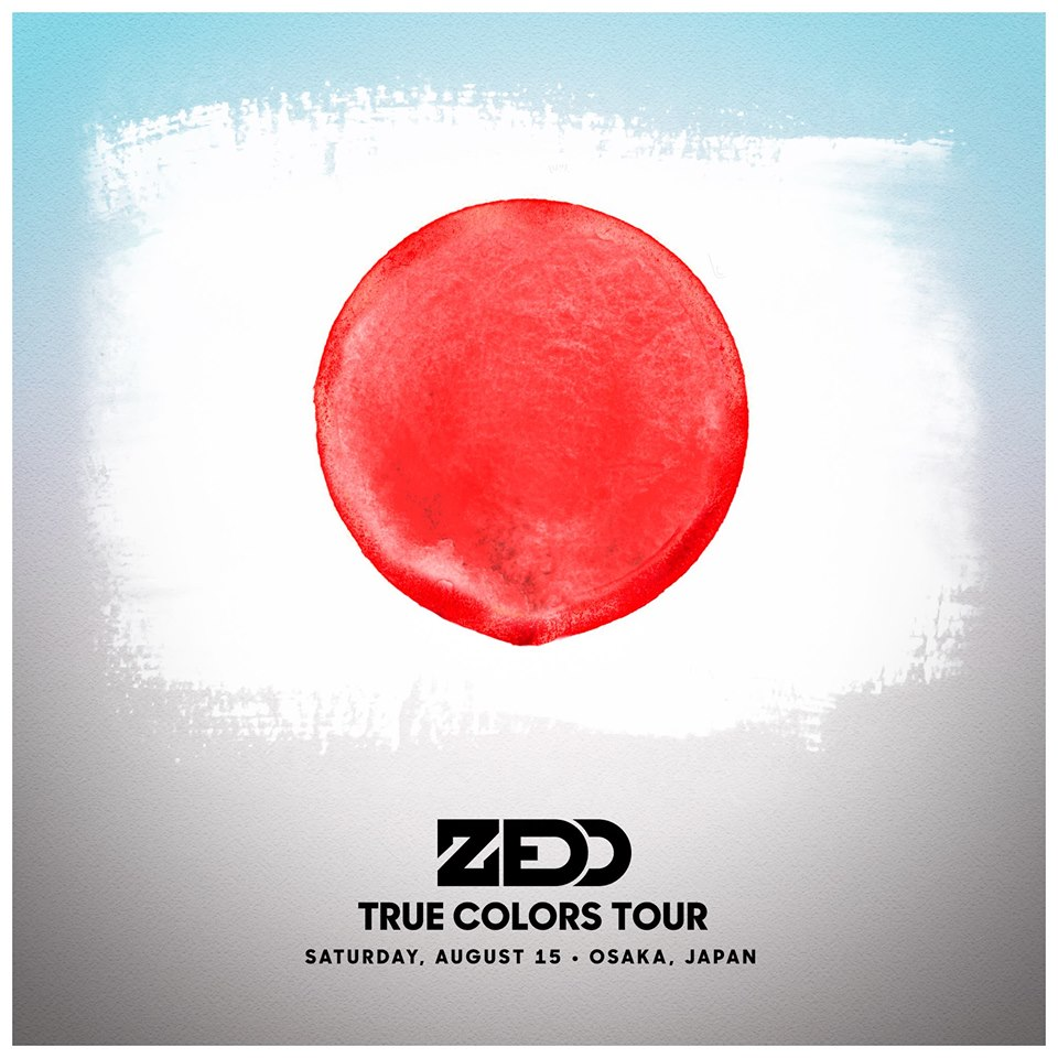SUMMER SONIC 2015 ZEDD JAPAN