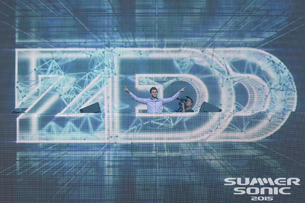 SUMMER SONIC 2015 ZEDD
