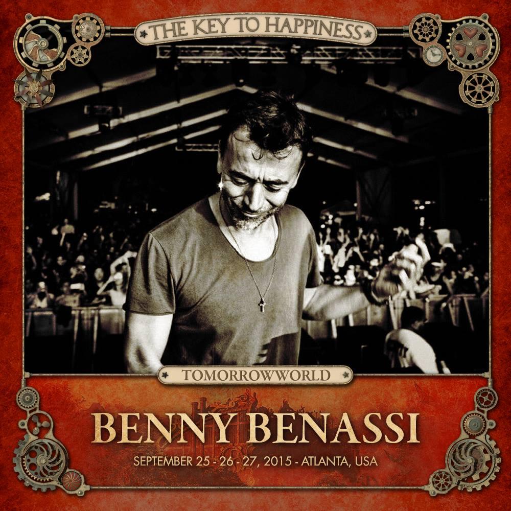 TomorrowWorld 2015 Benny Benassi