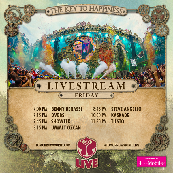 TomorrowWorld 2015 FRIDAY