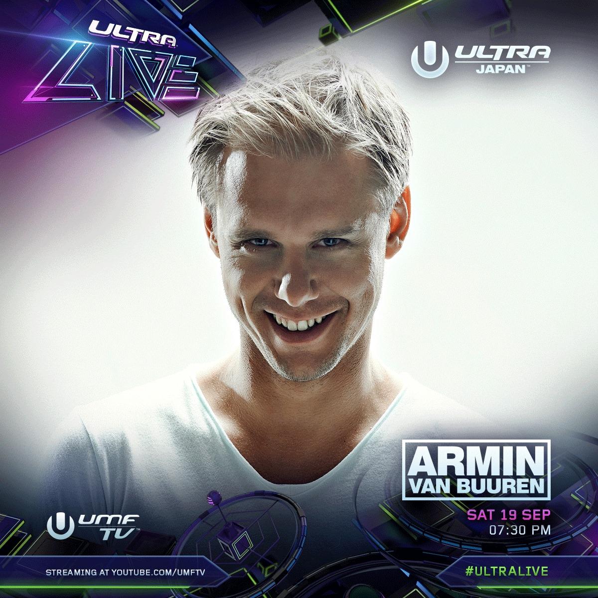 ULTRA JAPAN 2015 Armin van Buuren
