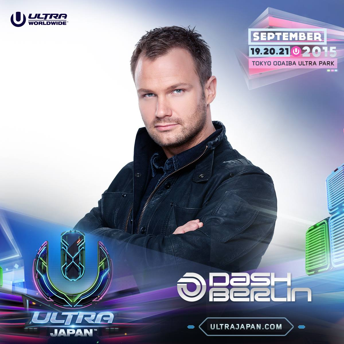 ULTRA JAPAN 2015 X Dash Berlin
