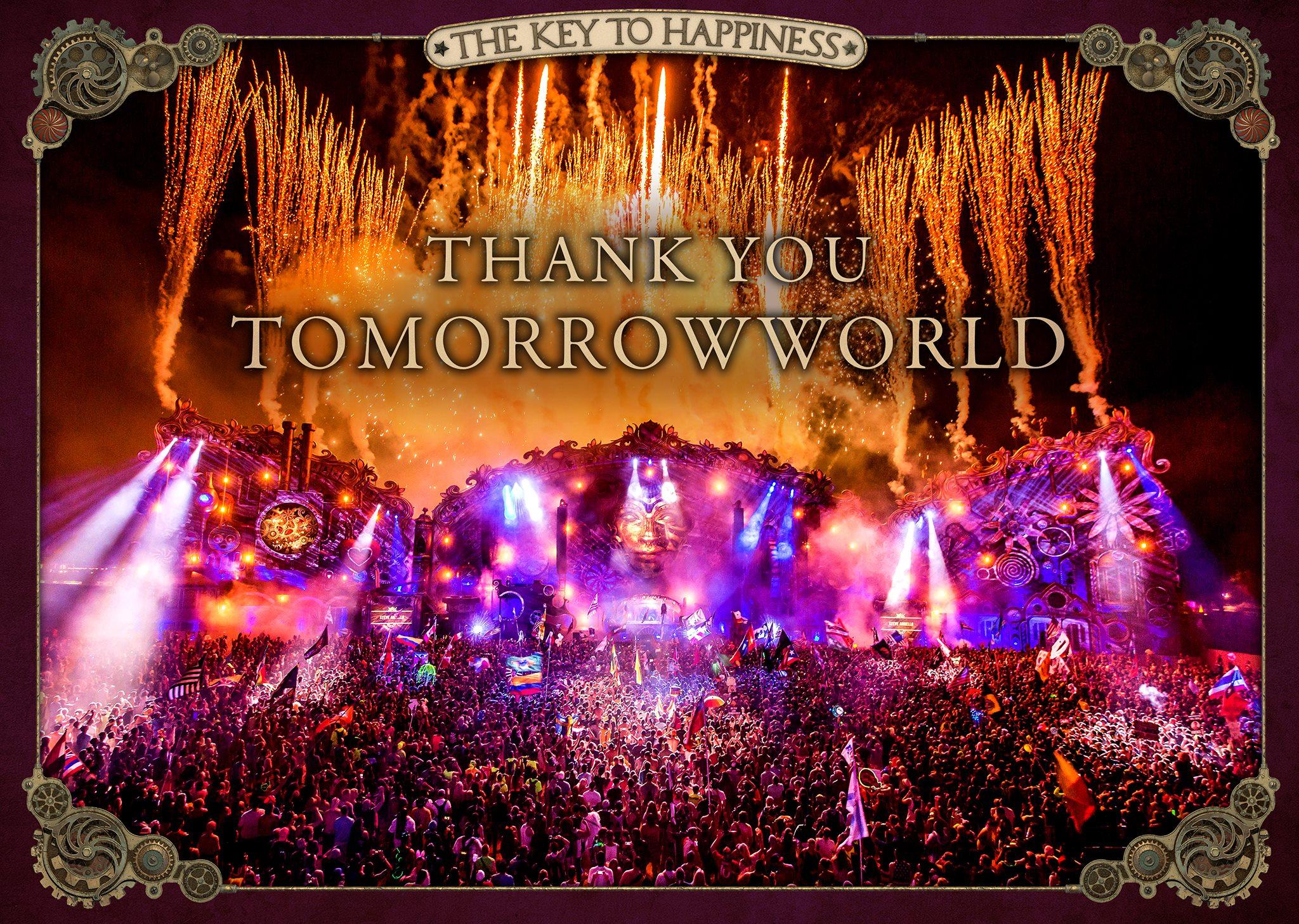 TomorrowWorld 2015 Thank you