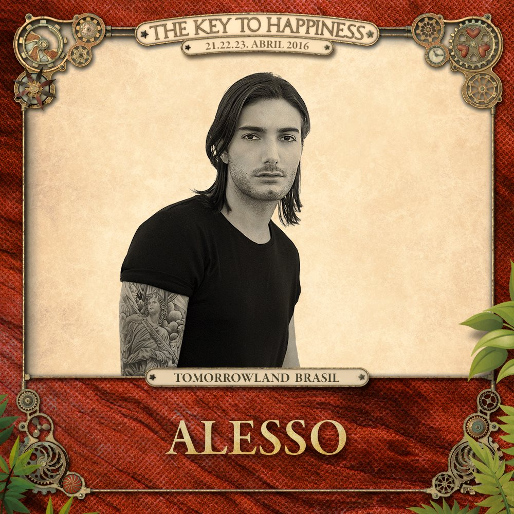 Alesso Tomorrowland Brasil 2016