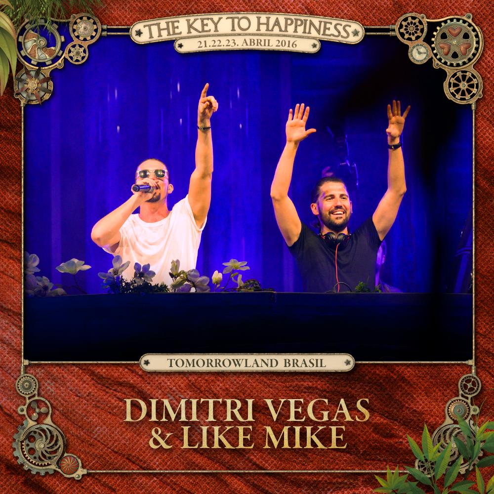 Dimitri Vegas and Like Mike Tomorrowland Brasil 2016