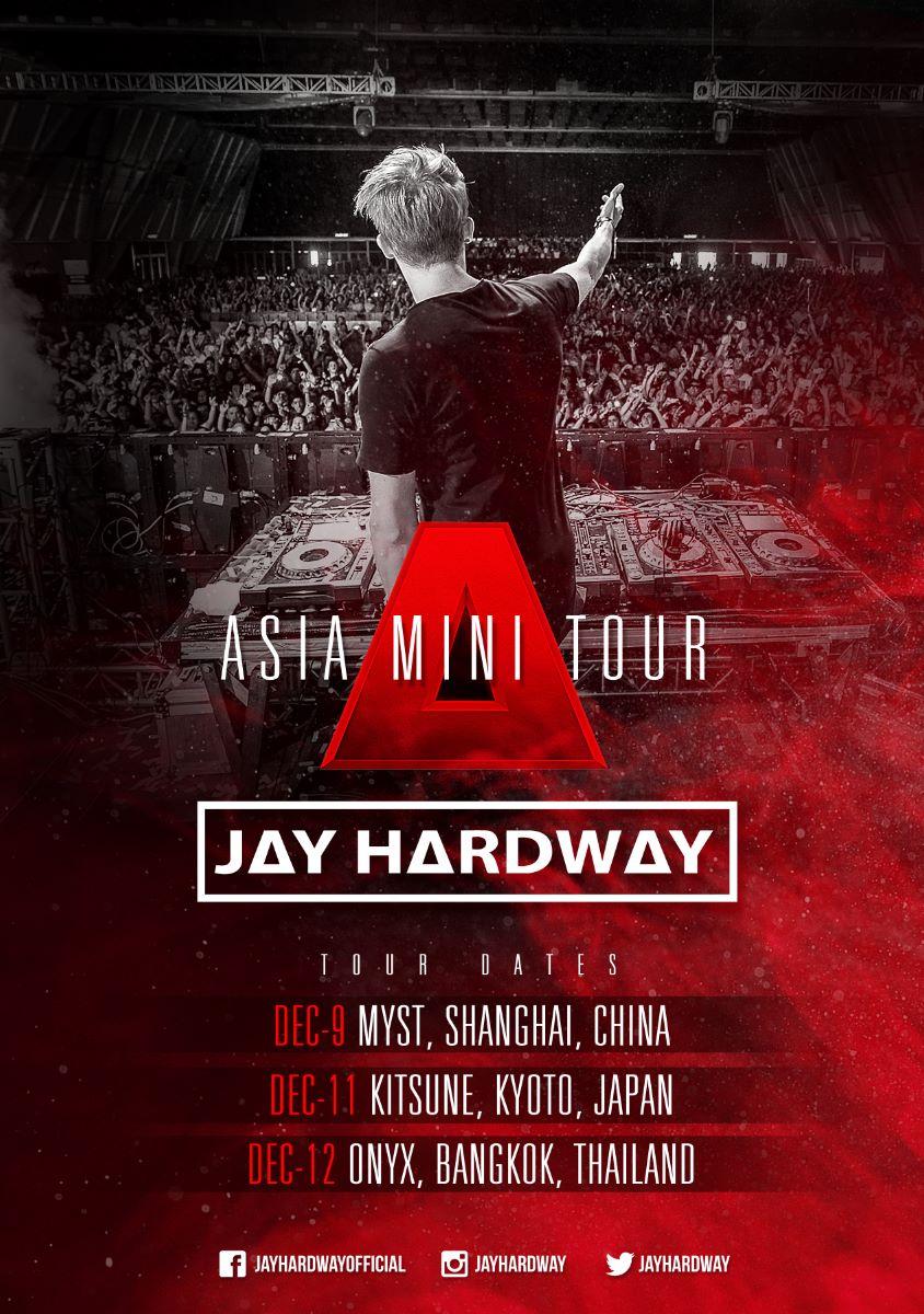 JAY HARDWAY ASIA TOUR 2015