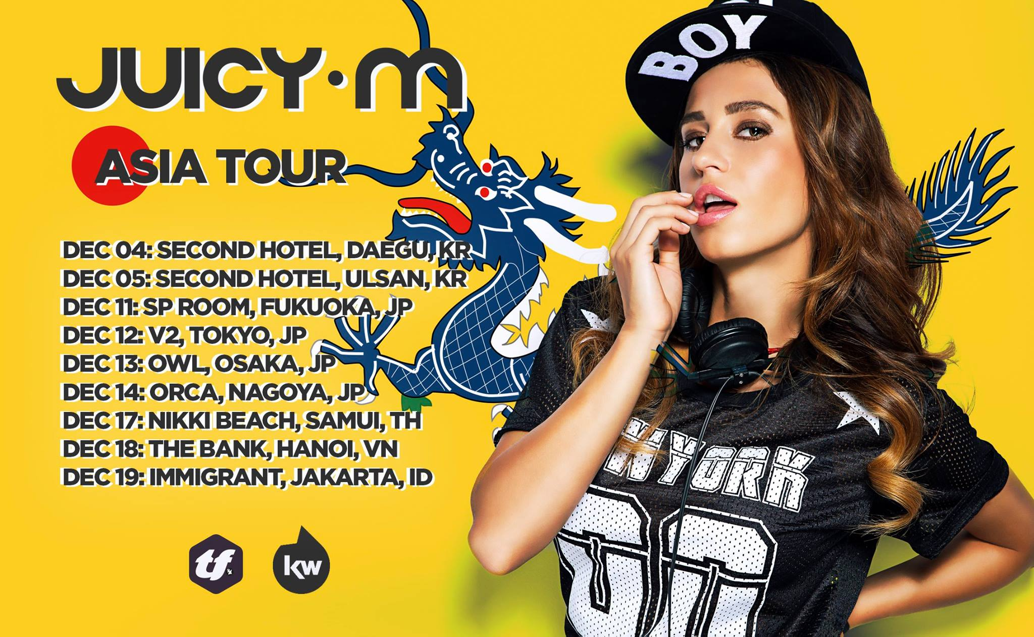 JUICY M 2015 ASIA TOUR
