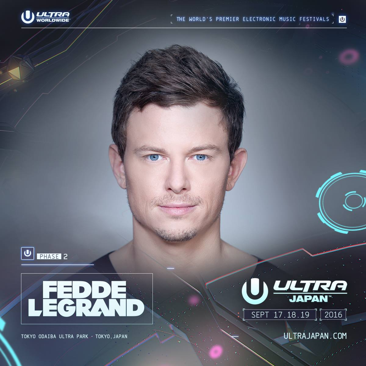 ULTRA JAPAN 2016 Fedde Le Grand