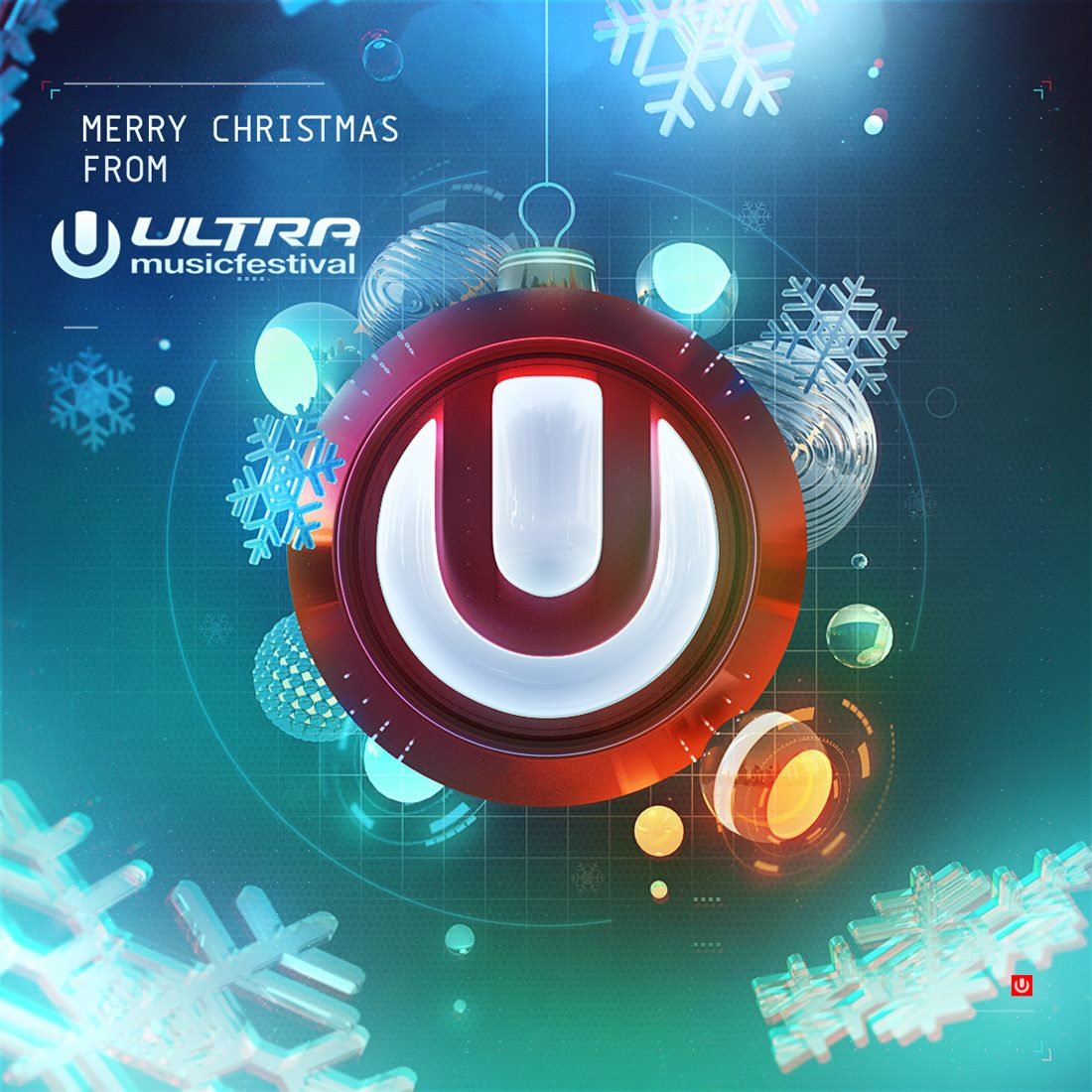Ultra Music Festival Merry Christmas