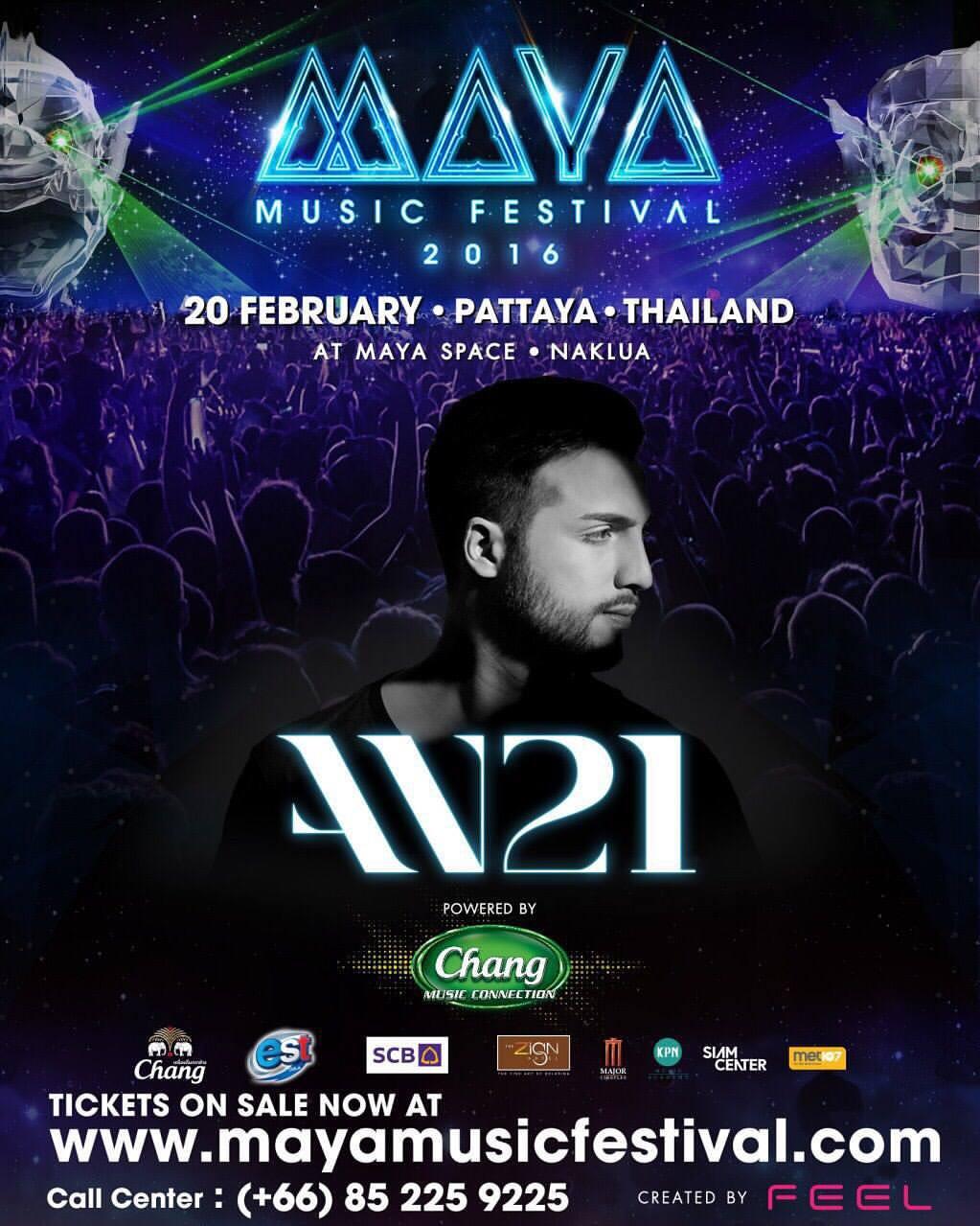 MAYA Music festival  AN21