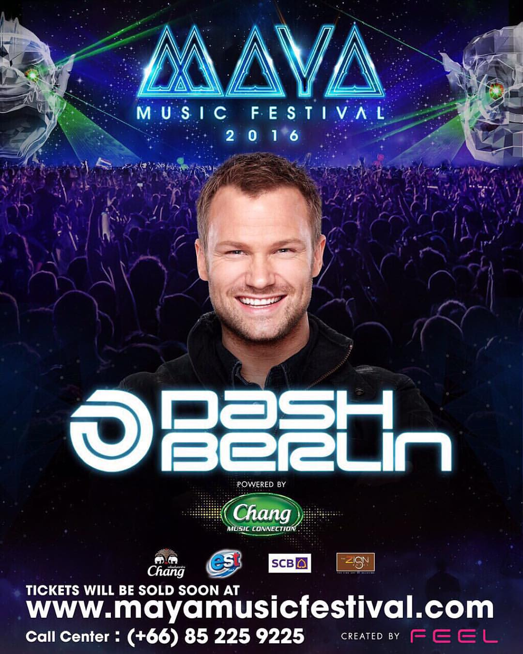 MAYA Music festival   Dash Berlin