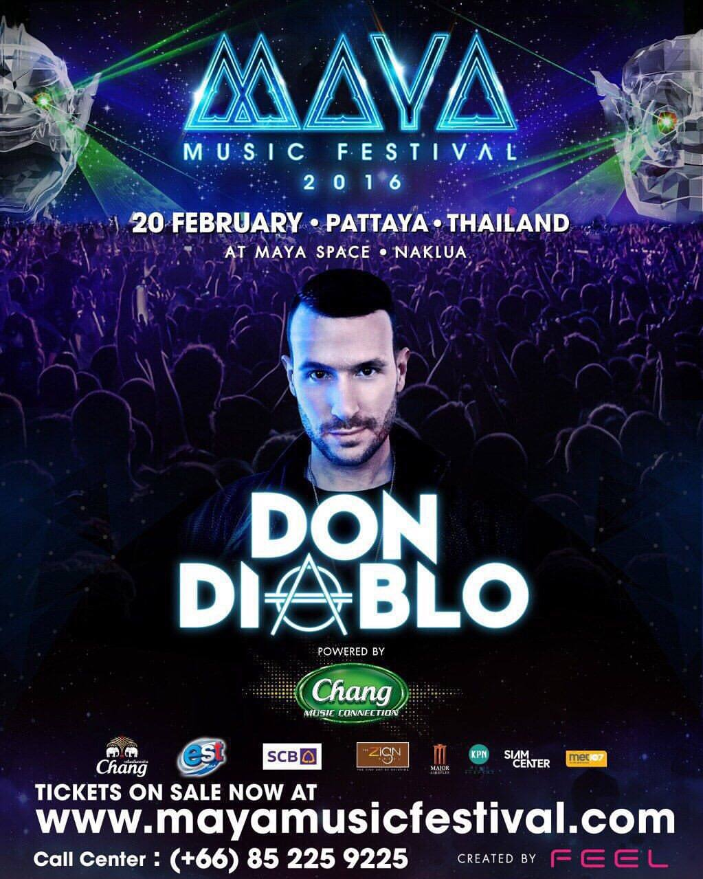 MAYA Music festival   Don Diablo