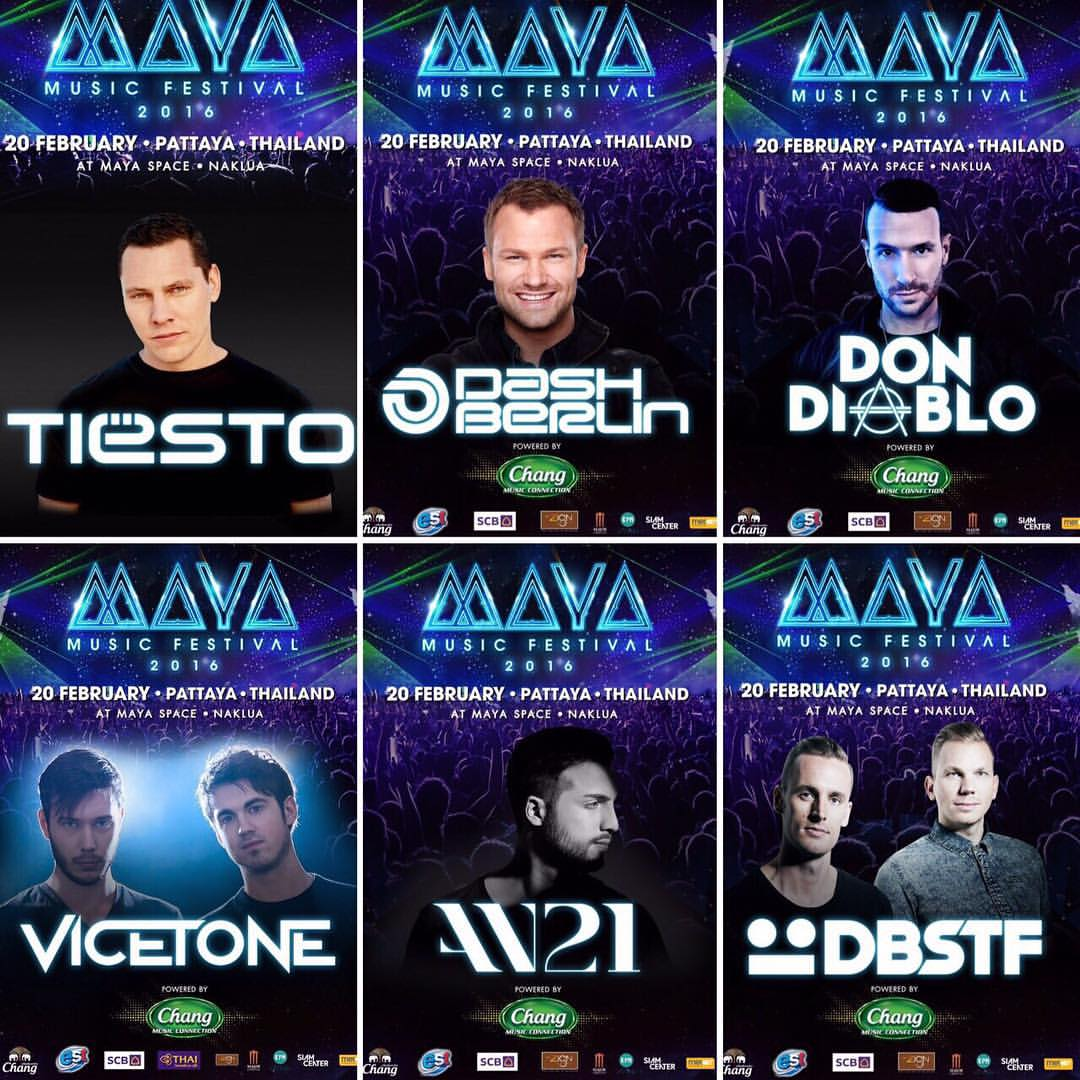 MAYA Music festival lineup