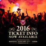 Tomorrowland 2016 ticket info