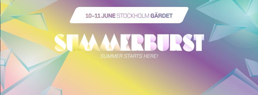 Summerburst Festival 2016 Stockholm