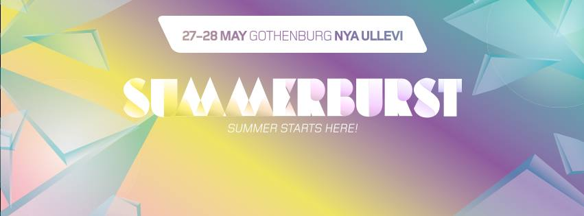 Summerburst Festival Gothenburg 2016