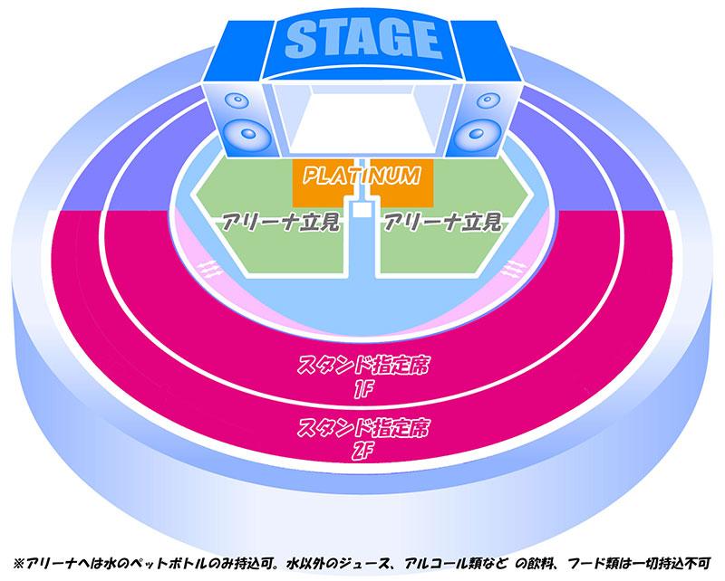 AVICII 2016 LIVE map