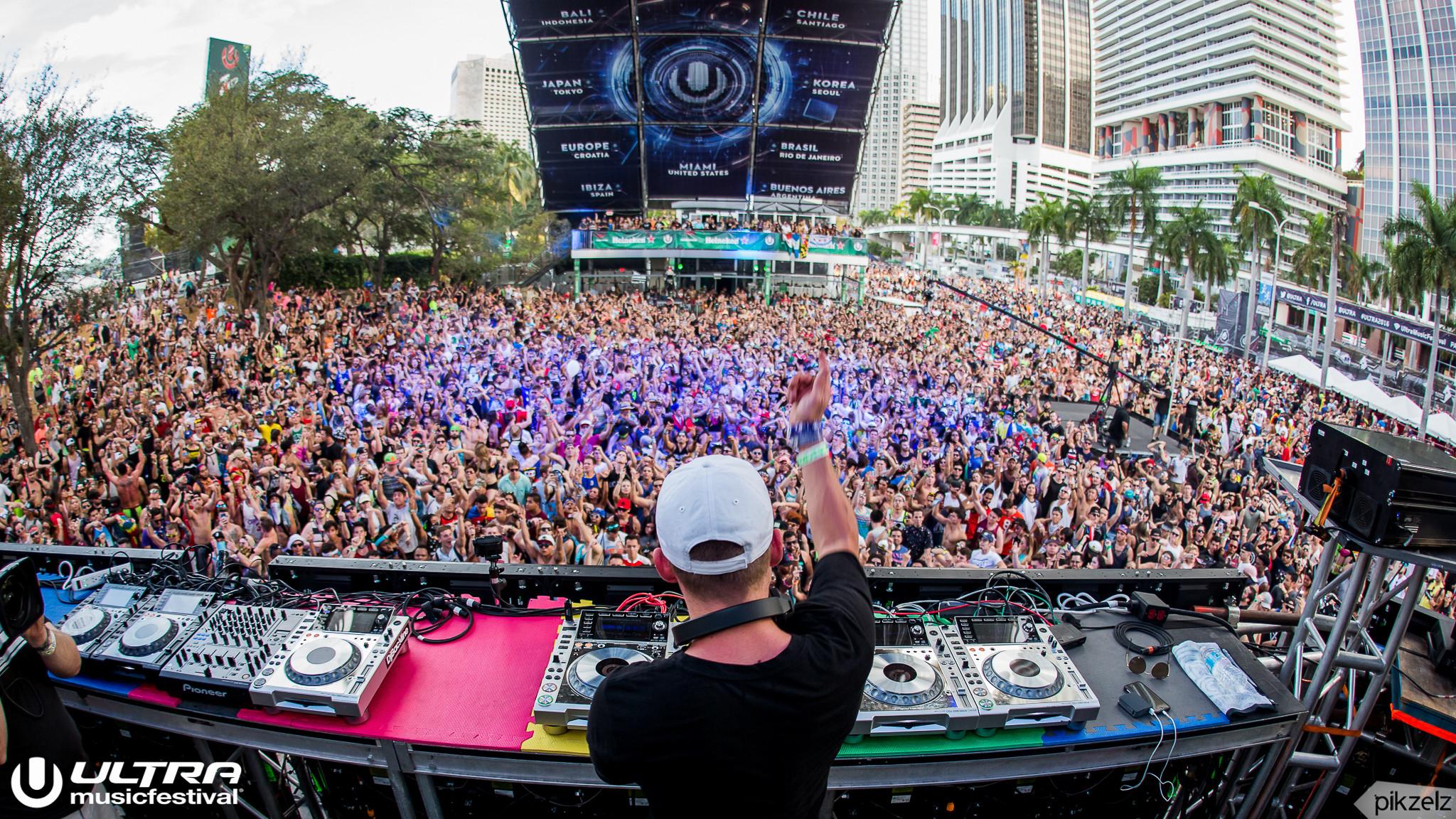 Pikzelz for Ultra Music Festival 2