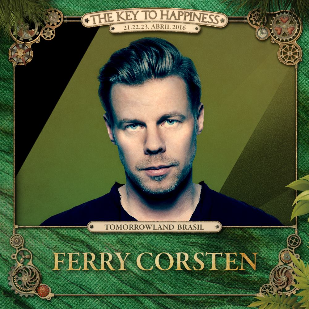 Ferry Corsten Tomorrowland Brasil 2016