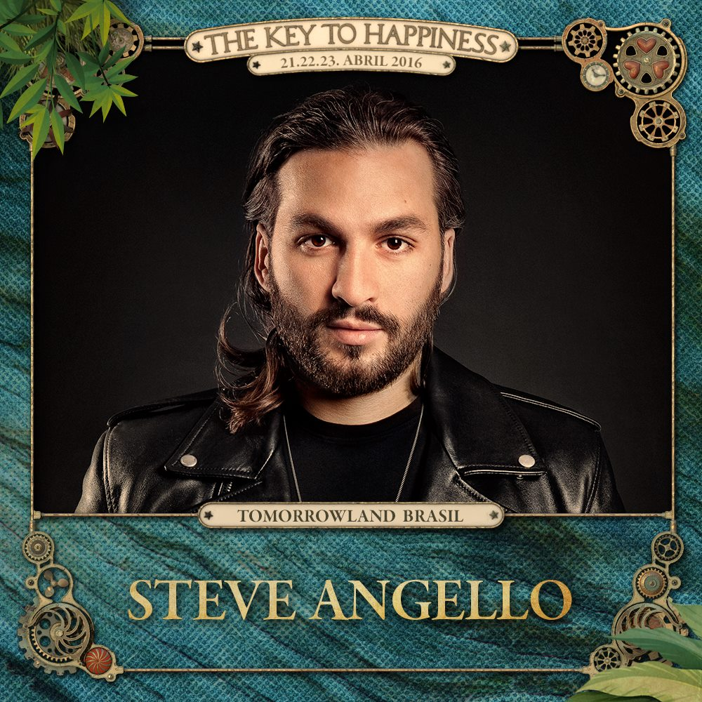 Steve Angello Tomorrowland Brasil 2016