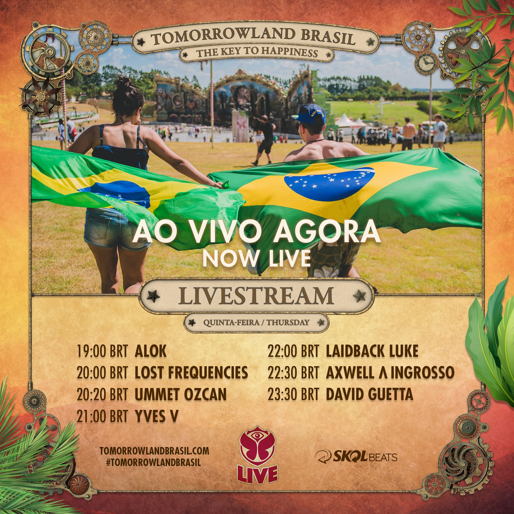 Tomorrowland Brasil LIVE FRI