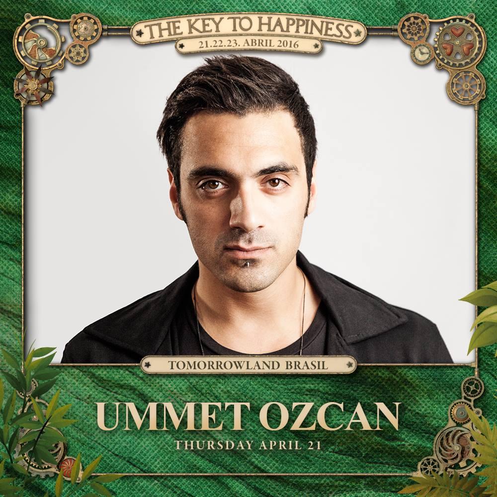 Ummet Ozcan Tomorrowland Brasil 2016