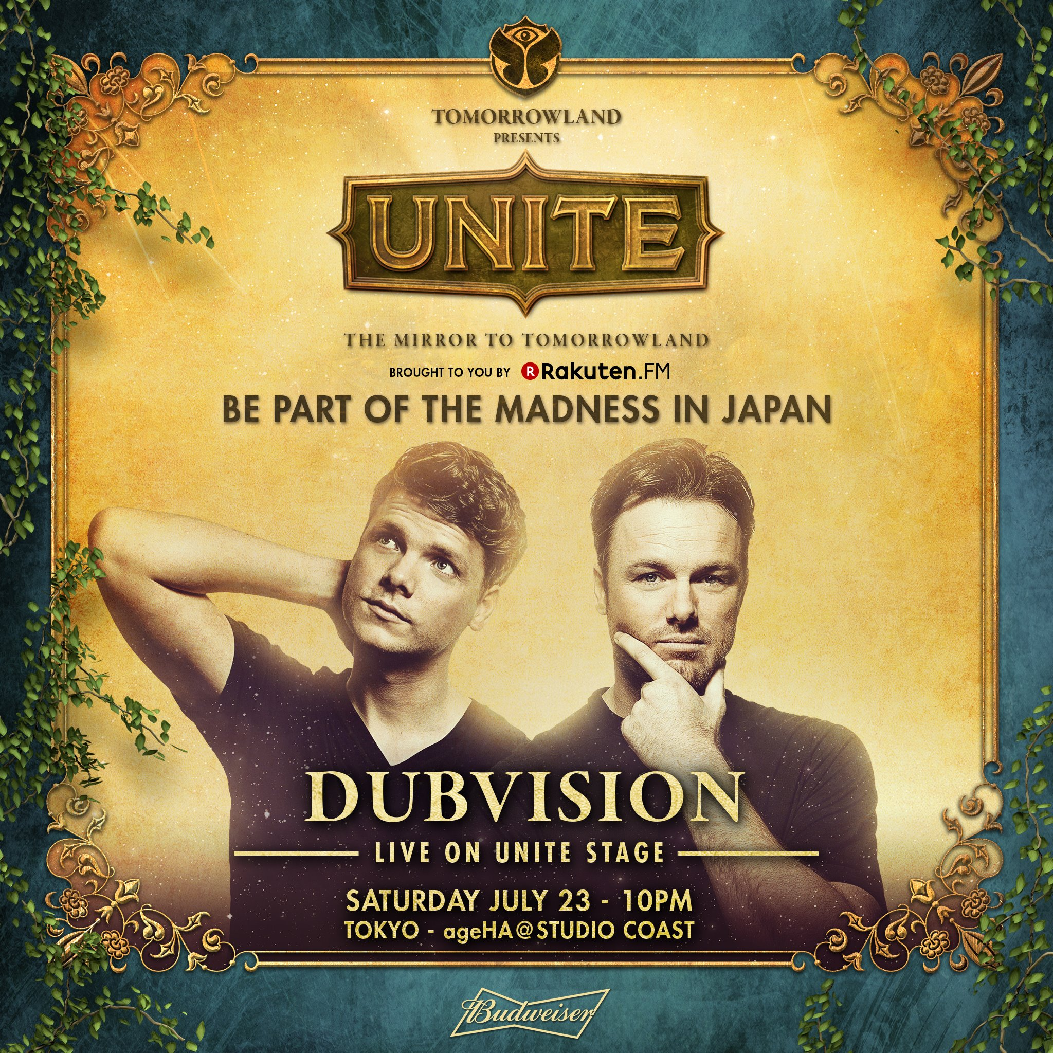 Tomorrowland Presents UNITE - Japan DUBVISION