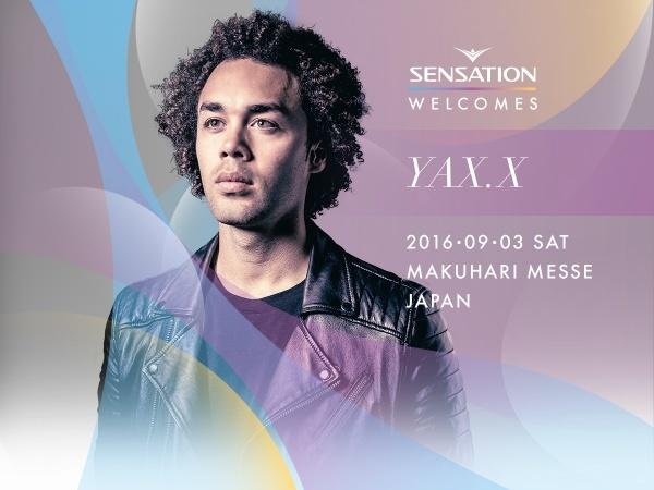 Yax.x SENSATION 2016 LINEUP