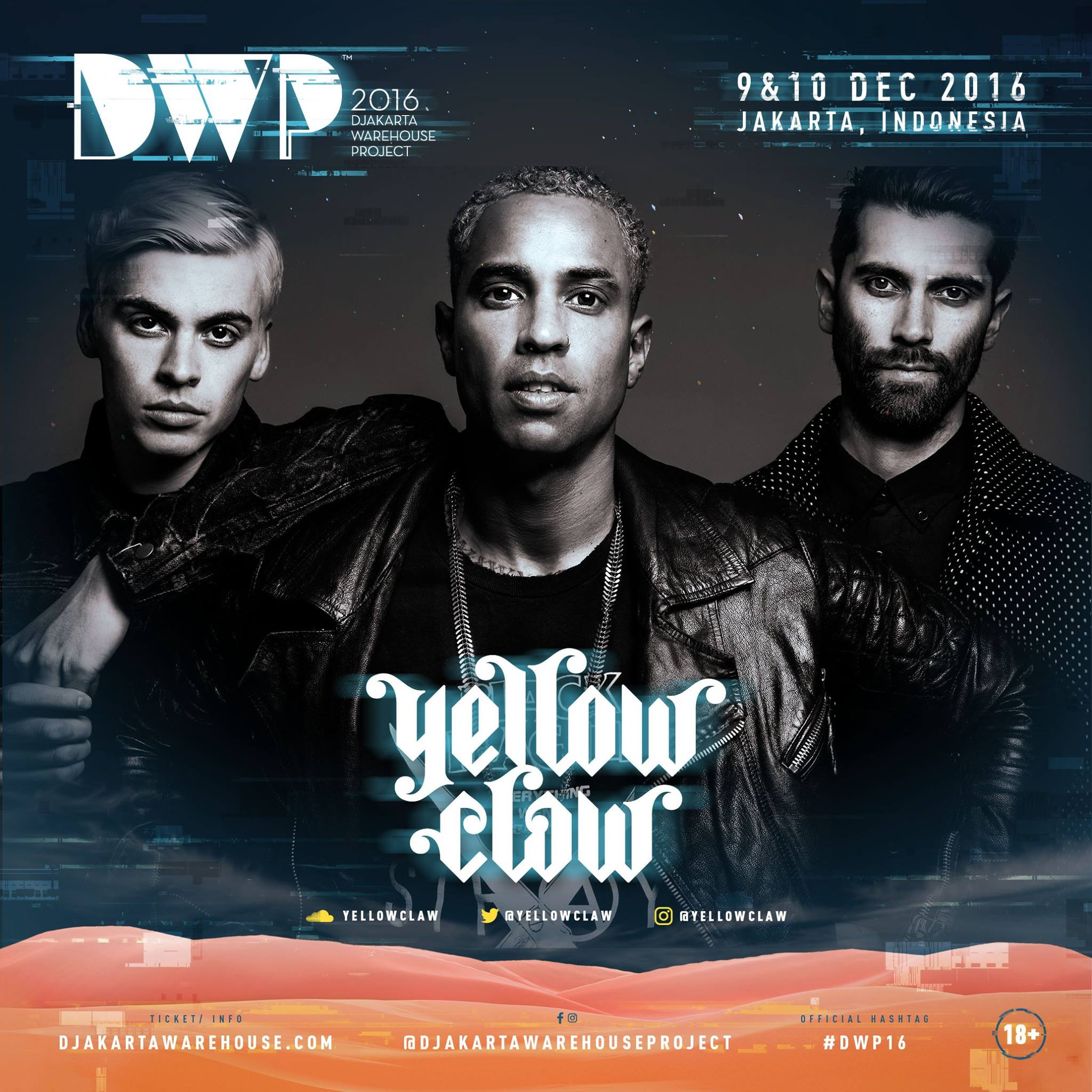 Yellow Claw DWP 2016