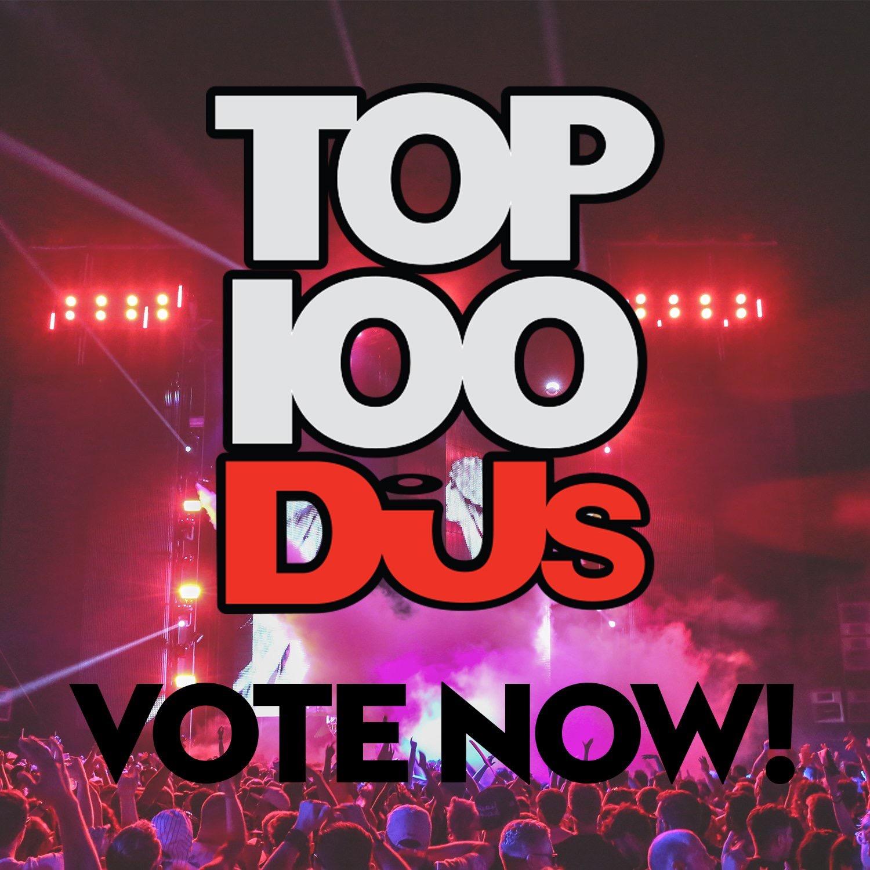 DJ MAG 2016 VOTE