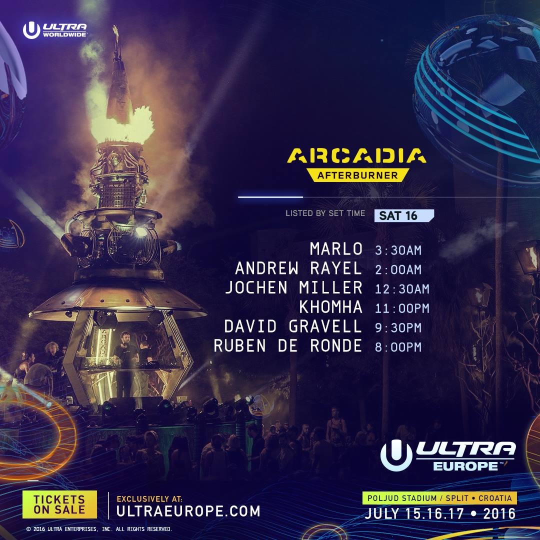 Ultra Europe 2016 Arcadia sat