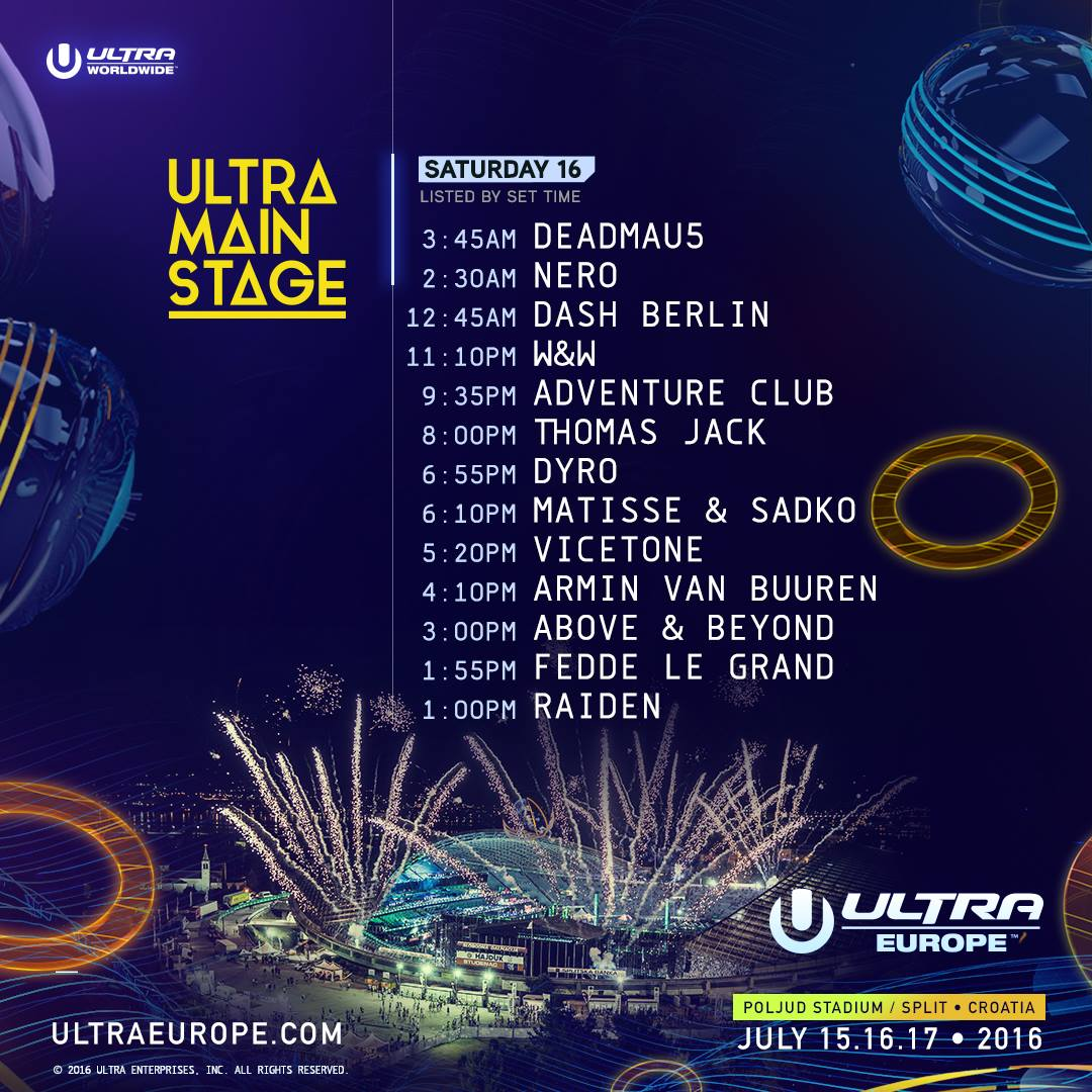 Ultra Europe 2016 main sat 2