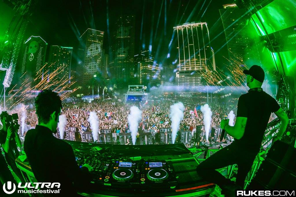 Ultra Music Festival, Miami 2016 Knife Party