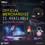 ULTRA JAPAN 2016 OFFICIAL MERCHANDISE